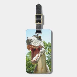 Tyrannosaurus Rex dinosaur Luggage Tag