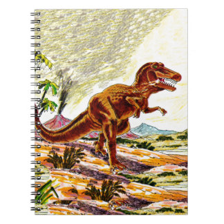 Tyrannosaurus Rex Dinosaur Spiral Note Books