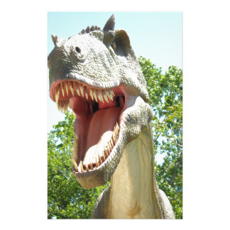 Tyrannosaurus Rex Dinosaur Stationery