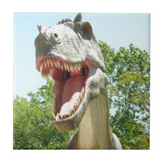 Tyrannosaurus Rex dinosaur Ceramic Tile