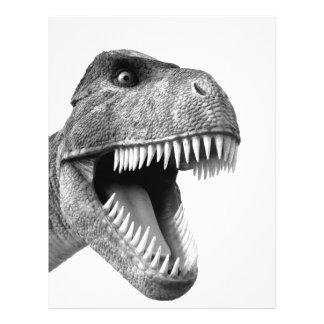 Tyrannosaurus Rex 21.5 Cm X 28 Cm Flyer