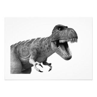Tyrannosaurus Rex Personalized Announcements