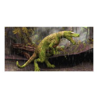 Tyrannosaurus Rex Personalised Photo Card
