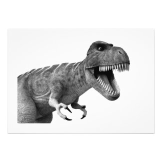 Tyrannosaurus Rex Personalized Announcements