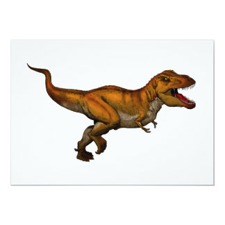 Tyrannosaurus Rex Running T-Rex Invites