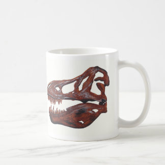 Tyrannosaurus rex Skull double image Mug