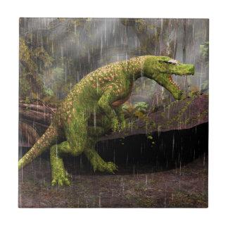 Tyrannosaurus Rex Small Square Tile
