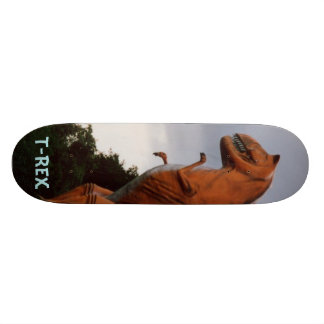 Tyrannosaurus Rex T-Rex Dinosaur skateboard deck