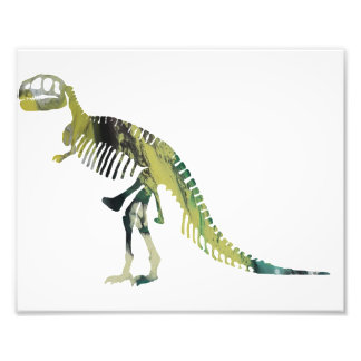 Tyrannosaurus skeleton art photo
