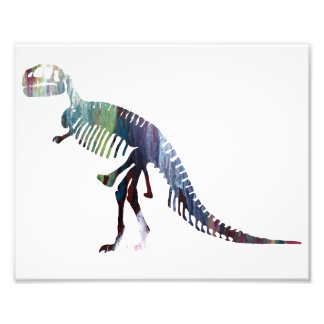 Tyrannosaurus skeleton photo art