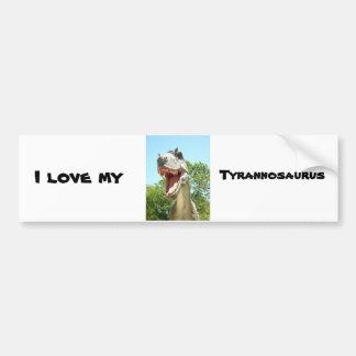 Tyrannosaurus T-Rex Dinosaur Bumper Stickers