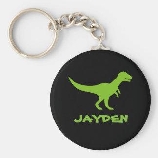 Tyrannosaurus t rex dinosaur keychain for kids basic round button keychain