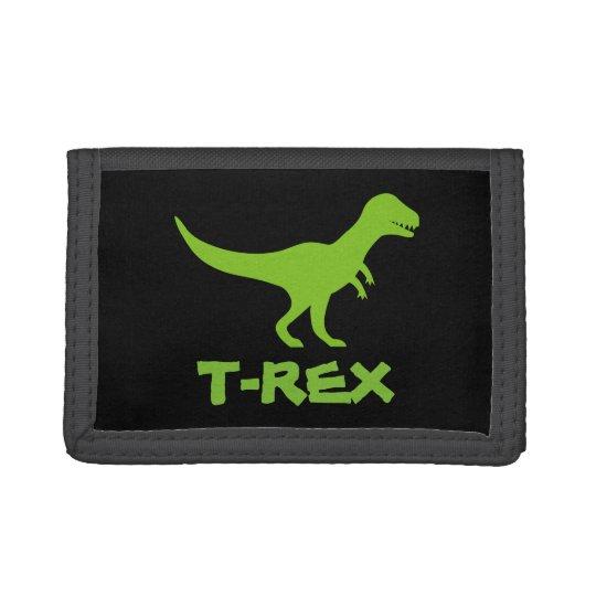 Tyrannosaurus T Rex dinosaur money wallet for boys