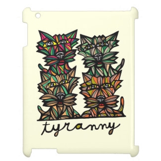 """Tyranny"" 631 Art iPad Case"