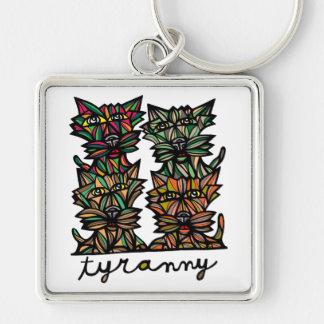 """Tyranny"" Premium Keychain"
