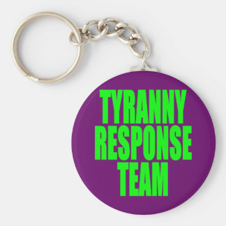 Tyranny Response Team Basic Round Button Key Ring