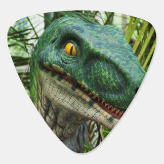 tyranosaurus reptile illustration guitar pick