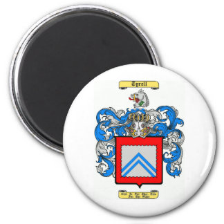 Tyrell 6 Cm Round Magnet