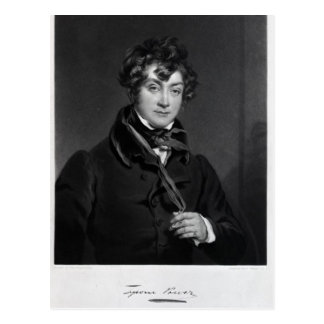 Tyrone Power, engraved by James Sands, c.1833 Postcard