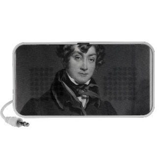 Tyrone Power, engraved by James Sands, c.1833 Mini Speakers