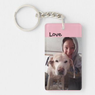 Tyson The Lab Key Ring