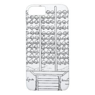Tzompantli Skull Rack Codex Duran iPhone 7 Case