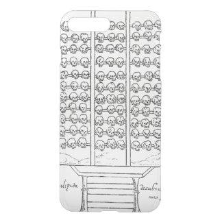Tzompantli Skull Rack Codex Duran iPhone 7 Plus Case
