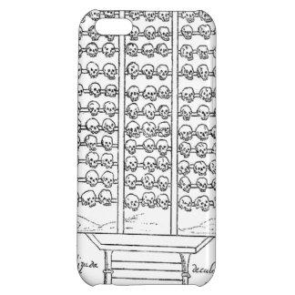 Tzompantli Skull Rack Codex Duran iPhone 5C Covers