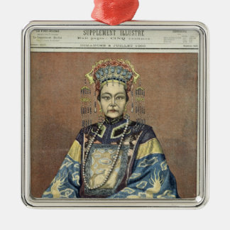 Tz'U-Hsi  Empress Dowager of China Christmas Ornament
