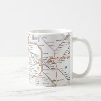 U-Bahn Berlin Basic White Mug