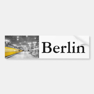 U Bahn Berlin Bumper Sticker