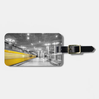U Bahn Berlin Luggage Tag