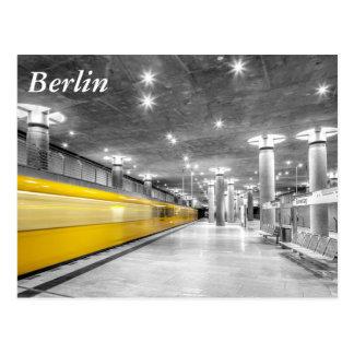 U Bahn Berlin Postcard