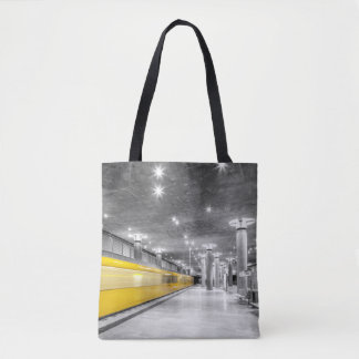 U Bahn Berlin Tote Bag