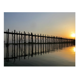 U-Bein Bridge Postcard
