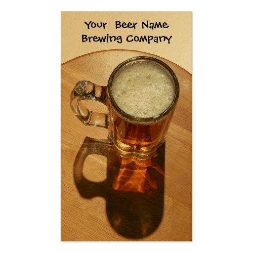 U-Brew Beer in Mug Business Card