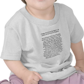 !!! U Create Declaration of Independence T Shirt
