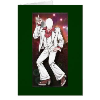 U Fill Photo Male Disco Dancer Card