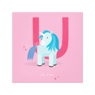 U is for... gallery wrapped canvas