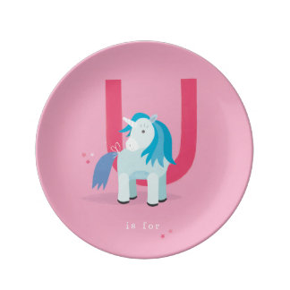 U is for... plate
