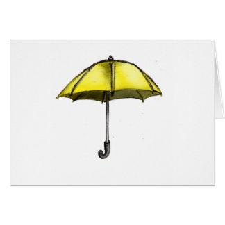 U is for Umbrella Card