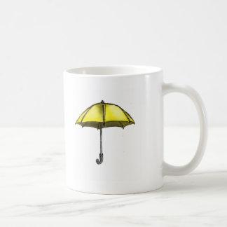 U is for Umbrella Classic White Coffee Mug