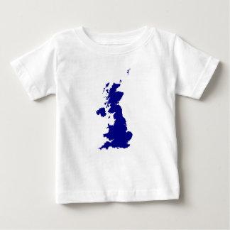 U.K. and Northern Ireland Silhouette Baby T-Shirt