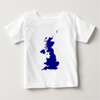 U.K. and Northern Ireland Silhouette Baby T-Shirt