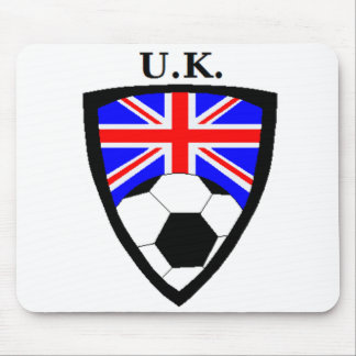 U.K. Soccer Mouse Pad