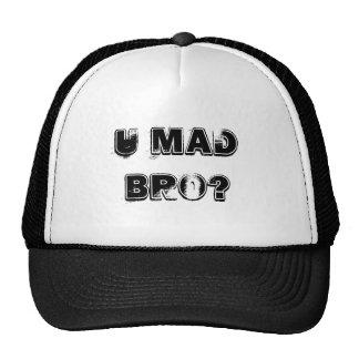 U MAD BRO? TRUCKER HATS