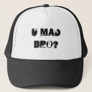U MAD BRO? TRUCKER HAT