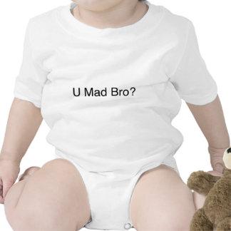U mad bro? baby bodysuit