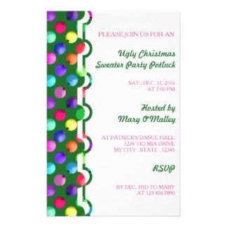 U Pick Color/ Antique Christmas Tree Ornaments 14 Cm X 21.5 Cm Flyer
