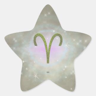 U Pick Color/ Aries Zodiac Sign Star Sticker